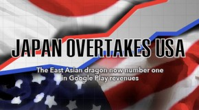 Japan overtakes the US in Google Play monthly revenue