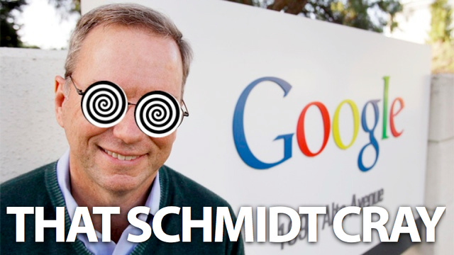 Eric Schmidt: Apple and Google are Like Competing Countries, Not Kids With Guns