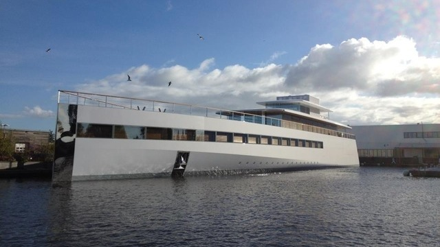 Steve Jobs' Yacht Repossessed By—You Guessed It—Philippe Stark