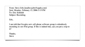 The No-Hire Emails That Incriminate Apple, Google, Adobe and More