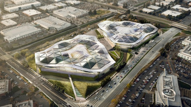 Nvidia's New Headquarters Is Going to Look More Alien Than Apple's Spaceship