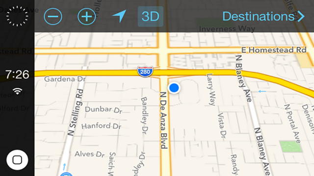 iOS in Your Car Could Look Pretty Great